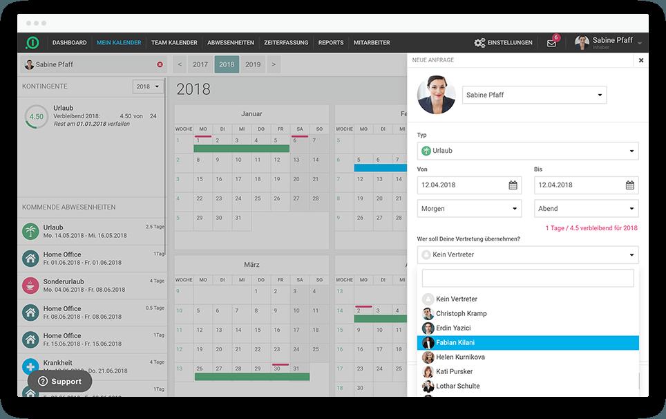 Personalverwaltung per Software und App