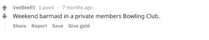 Bowlers do seem like legit nice people