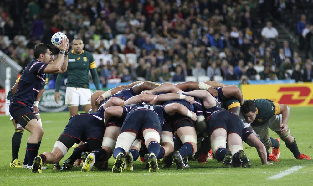 good teamwork rugby team