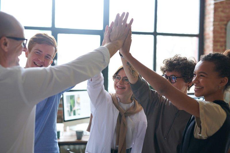 Mitarbeiterbindung-Team